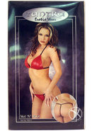 Tantra Wet N Wild Lingerie Red