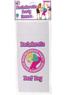 Bachelorette Party Favors Barf Bag Multicolor